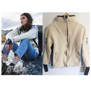 Dale of Norway   Zippered Wool Sweater Jacket